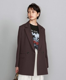 BY 綾織雙排釦西裝外套