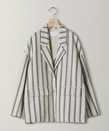 BY直條紋西裝外套
