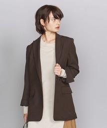 BY 素色&細直條紋 雙排扣西裝外套