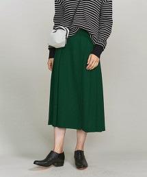 BY 斜紋布打摺一片裙