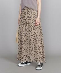 BY 豹紋印刷 迷嬉裙