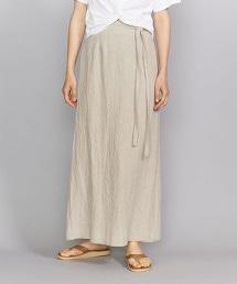 BY 側邊蝴蝶結長版窄裙