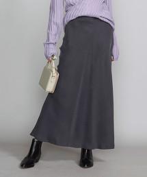 BY 古著感 銅氨纖維 窄版 迷嬉裙