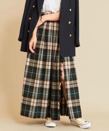 BY∴ 格紋 一片式 迷嬉裙