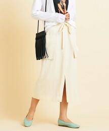 BY∴ 高腰綁帶窄裙