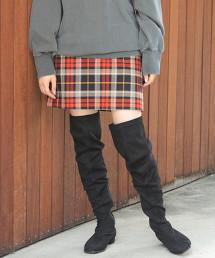 BY∴ 蘇格蘭紋迷你裙