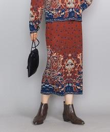 BY 緹花織物 針織裙