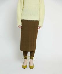 BY 嫘縈混棉 羅紋 褲裙 -可手洗- ∴
