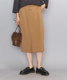 BY 特利可得布 正面鈕釦 窄裙