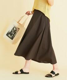 【無內裏】BY 高密度平織蓬鬆A字裙 -可手洗- 日本製