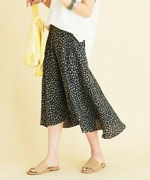 BY∴ 豹紋 A字裙 日本製