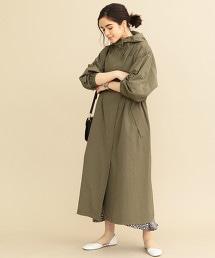 BY∴ 尼龍棉 連帽長大衣