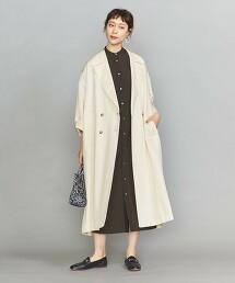 BY 斜紋 雙排釦大衣