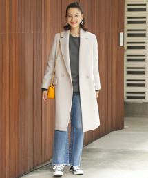 BY∴ MANTECO 雙釦西裝領大衣