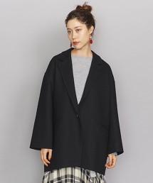 BY 壓縮運動服材質西裝領大衣