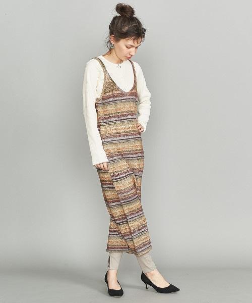 BY 混紡繽紛針織連身裙