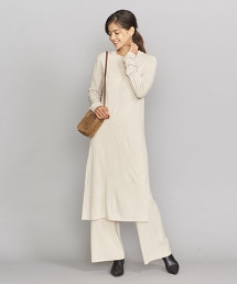 BY 16G 羊毛 嫘縈 側邊開衩 洋裝