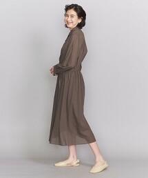 BY 巴里紗襯衫式洋裝