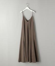 BY∴ 銅氨纖維細肩帶長版洋裝 -可手洗-