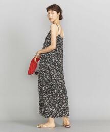BY LIBERTY印花 細肩帶長版洋裝