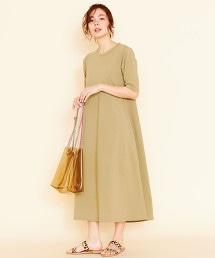 BY∴ 棉質長版A字洋裝