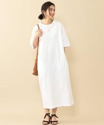 BY∴ 棉質長版T恤洋裝