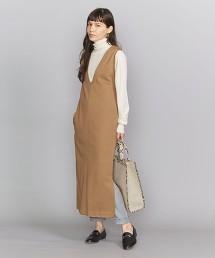 BY 羅馬布吊帶裙