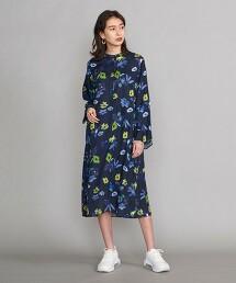 BY 花朵印花洋裝 日本製