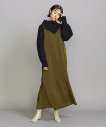 BY 後鈕扣細肩帶連身裙 2 -可手洗- 日本製