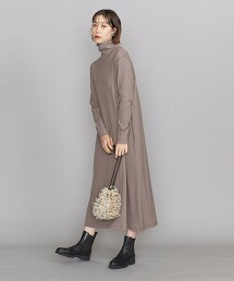 BY 純棉高領 A字連身裙 -可手洗- 日本製