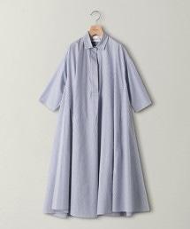<dahl'ia>直條紋襯衫式洋裝