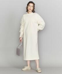 <J.C.M>抽繩袖 長洋裝