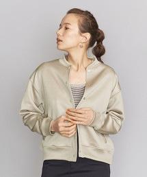 BY 珠光運動服材質衛衣夾克