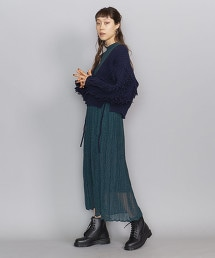 BY 羊毛流蘇短版V領對襟外套