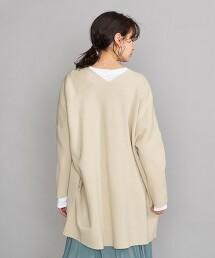 BY 純棉 米蘭羅紋 寬版對襟外套