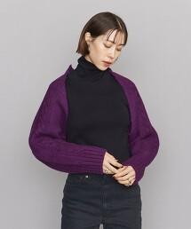 <TheOpen Product>繩紋針織 短版外套
