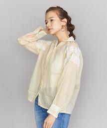 <POMPON>刺繡罩衫