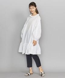 <dahl'ia>荷葉領中長版洋裝