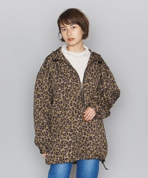 <dahl'ia>豹紋 滑雪衣 連帽外套