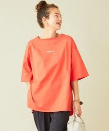 【特別訂製】<AMERICANA>∴大開衩寬版T恤 OUTLET商品