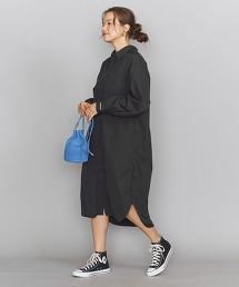 【特別訂製】<Americana>襯衫式洋裝 日本製 /BLACKΨ