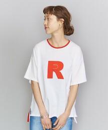 【特別訂製】<AMERICANA>RED 印花T恤 日本製