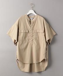 <Americana>側拉鍊 短袖襯衫 日本製