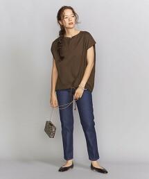 【特別訂製】<Americana>抽繩 法國袖 T恤 日本製