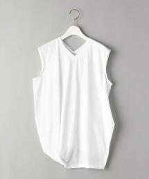 <08sircus>V領 不對襯 無袖 T恤 日本製