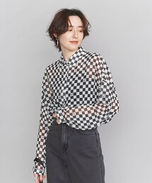 【特別訂製】<STAND ALONE>方塊格 長袖襯衫