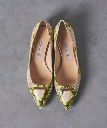 <PELLICO>蛇紋圖案 ANELLI 平底鞋 OUTLET商品