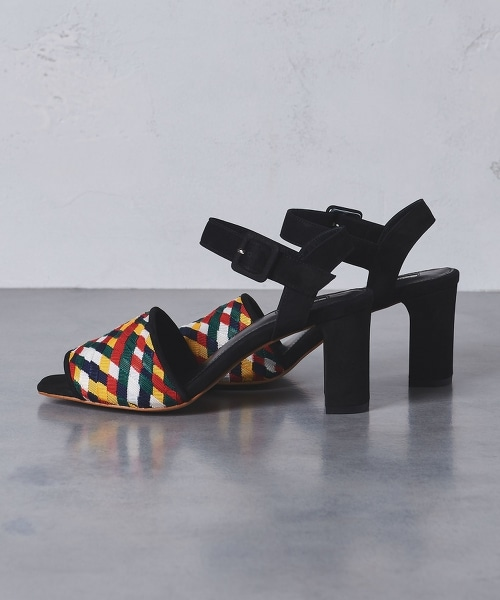 <CHEMBUR>網眼 編織涼鞋