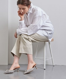 <PIPPICHIC>JANE/JWL 細格紋穆勒鞋 OUTLET商品