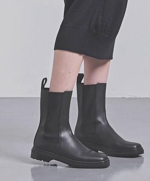 <PIPPICHIC>SISSI 側鬆緊帶 短靴 日本製